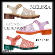 OPENING CEREMONY Open Toe Platform Casual Style Street Style Collaboration