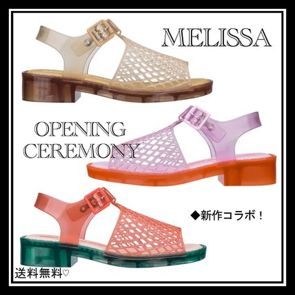 Open Toe Platform Casual Style Street Style Collaboration