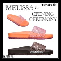 OPENING CEREMONY Open Toe Rubber Sole Casual Style Street Style Collaboration