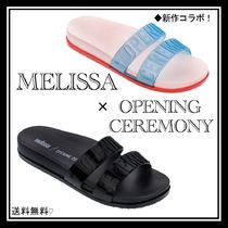 OPENING CEREMONY Open Toe Rubber Sole Casual Style Shower Shoes Flip Flops