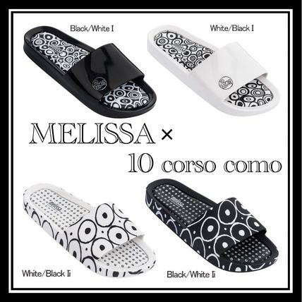 Open Toe Casual Style Collaboration Shower Shoes Flip Flops