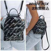 WHITE FOX Casual Style Blended Fabrics 3WAY Backpacks
