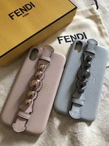 FENDI Plain Smart Phone Cases