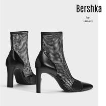 Bershka Casual Style Elegant Style Ankle & Booties Boots