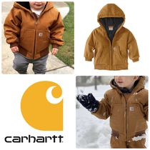 Carhartt Unisex Street Style Military Baby Girl Outerwear