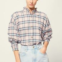 ISABEL MARANT ETOILE Other Check Patterns Cotton Shirts & Blouses