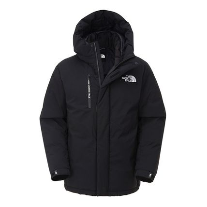 THE NORTH FACE Unisex Plain Logo Down Jackets
