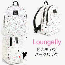 LOUNGE FLY Casual Style Unisex Collaboration Backpacks