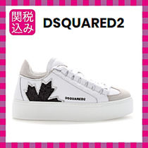 D SQUARED2 Casual Style Leather Low-Top Sneakers
