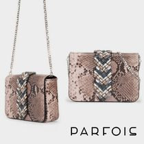 PARFOIS Faux Fur Chain Party Style Python Elegant Style Party Bags