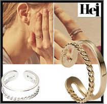 Hei Casual Style Street Style Rings