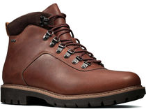 Clarks Plain Toe Mountain Boots Leather Outdoor Boots