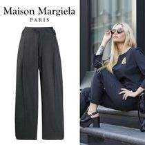 Maison Margiela Wool Plain Medium Culottes