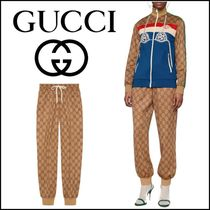 GUCCI Printed Pants Casual Style Unisex Sweat Street Style Long