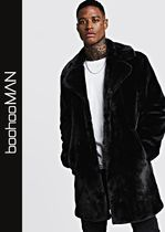boohoo Faux Fur Long Coats