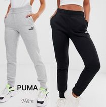 PUMA Sweat Street Style Plain Cotton Sweatpants