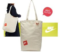 Nike Casual Style Canvas Street Style Totes