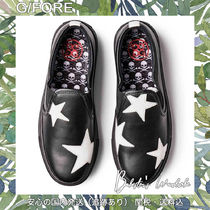 G FORE Skull Star Casual Style Street Style Low-Top Sneakers