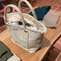 Ron Herman Casual Style A4 Logo Totes