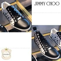 Jimmy Choo Star Leather Sneakers