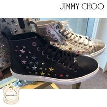 Jimmy Choo Leather Sneakers