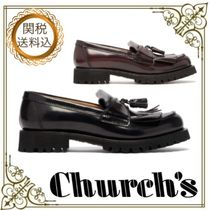 Church's Round Toe Tassel Leather Loafer & Moccasin Shoes