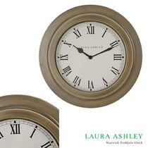 Laura Ashley Unisex Blended Fabrics Street Style Clocks