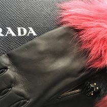 PRADA Leather Leather & Faux Leather Gloves