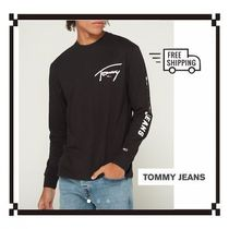 Tommy Hilfiger Street Style Plain Cotton T-Shirts