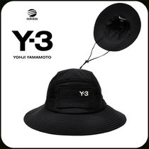 Y-3 Street Style Wide-brimmed Hats