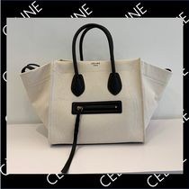 CELINE Luggage Phantom Plain Totes
