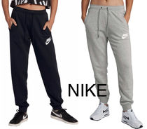 Nike Casual Style Street Style Plain Cotton Long Logo
