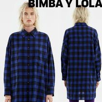 bimba & lola Other Check Patterns Casual Style Long Sleeves Long