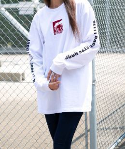 Street Style Long Sleeves Plain Cotton Long Puff Sleeves