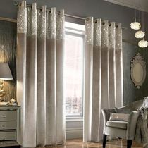 Kylie Minogue at home Curtains