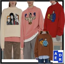 ADERERROR Casual Style Unisex Street Style Sweaters