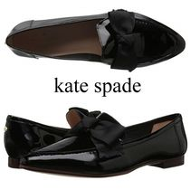 kate spade new york Casual Style Enamel Plain Pointed Toe Shoes