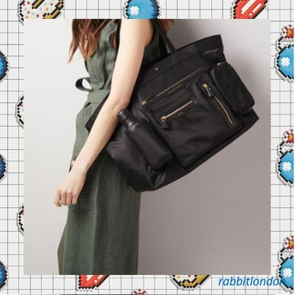 Nylon Office Style Formal Style  Totes