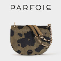PARFOIS Casual Style Other Animal Patterns Leather Party Style
