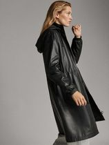 Massimo Dutti CASUAL DESIGN IN QUALITY NAPPA LEATHER WITH HOOD