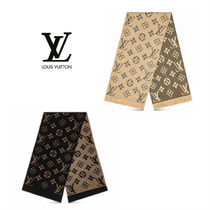Louis Vuitton Wool Blended Fabrics Heavy Scarves & Shawls