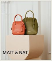 MATT&NAT Plain Shoulder Bags