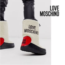 Love Moschino Heart Casual Style Boots Boots
