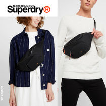 Superdry Casual Style Unisex Street Style Shoulder Bags