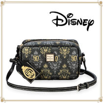 Disney Casual Style Leather Elegant Style Shoulder Bags