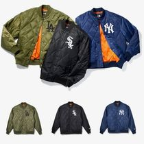 New Era Unisex Nylon MA-1 Bomber Jackets