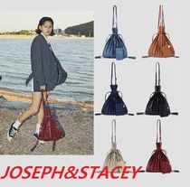 JOSEPH&STACEY Unisex Street Style Plain Home Party Ideas Handbags