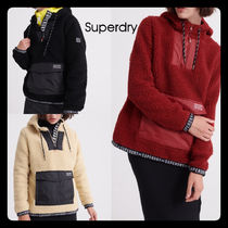 Superdry Street Style Long Sleeves Logos on the Sleeves