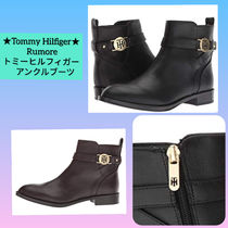 Tommy Hilfiger Casual Style Plain Office Style Ankle & Booties Boots