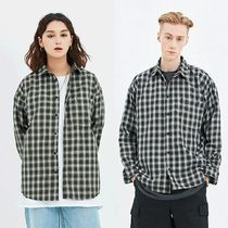 SAINTPAIN Tartan Other Check Patterns Casual Style Unisex Street Style